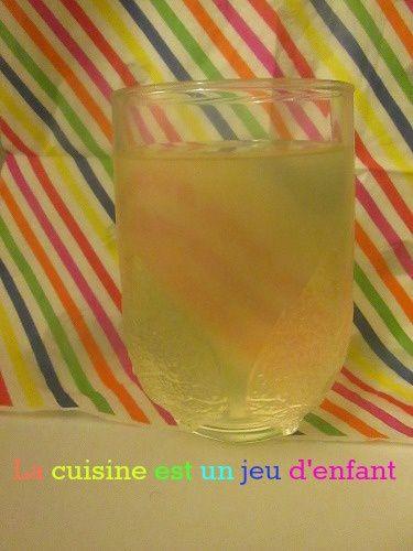 Boisson a la verveine et au citron