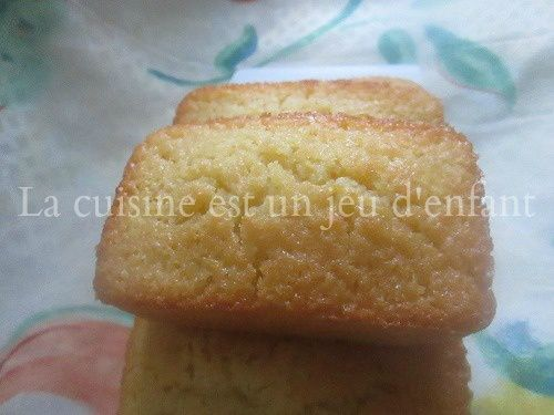 Minis cakes au citron