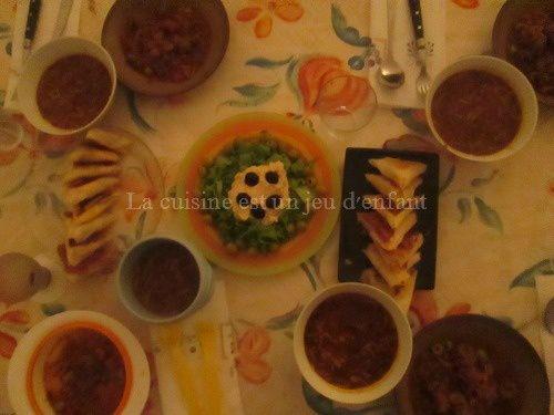 Repas du 1er jour de ramadan 2014