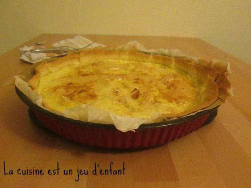 Quiche au camembert {Battle food #24}