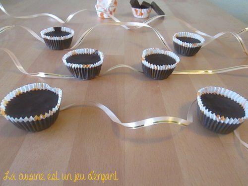 Mini bouchées chocolat