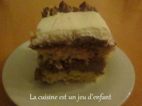 Génoise fourré à la crème au chocolat #2