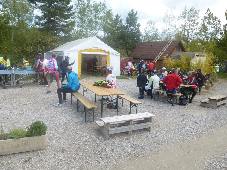 Déjeuner à la Base Nautique de LERAN