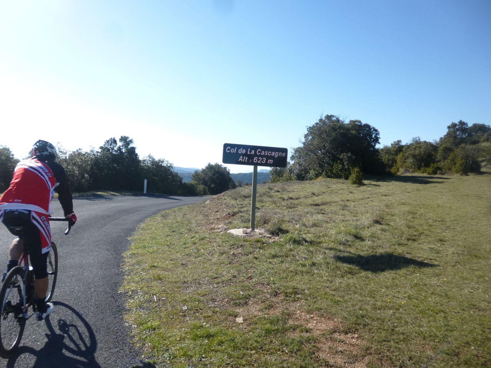 Direction le Col de LA CASCAGNE