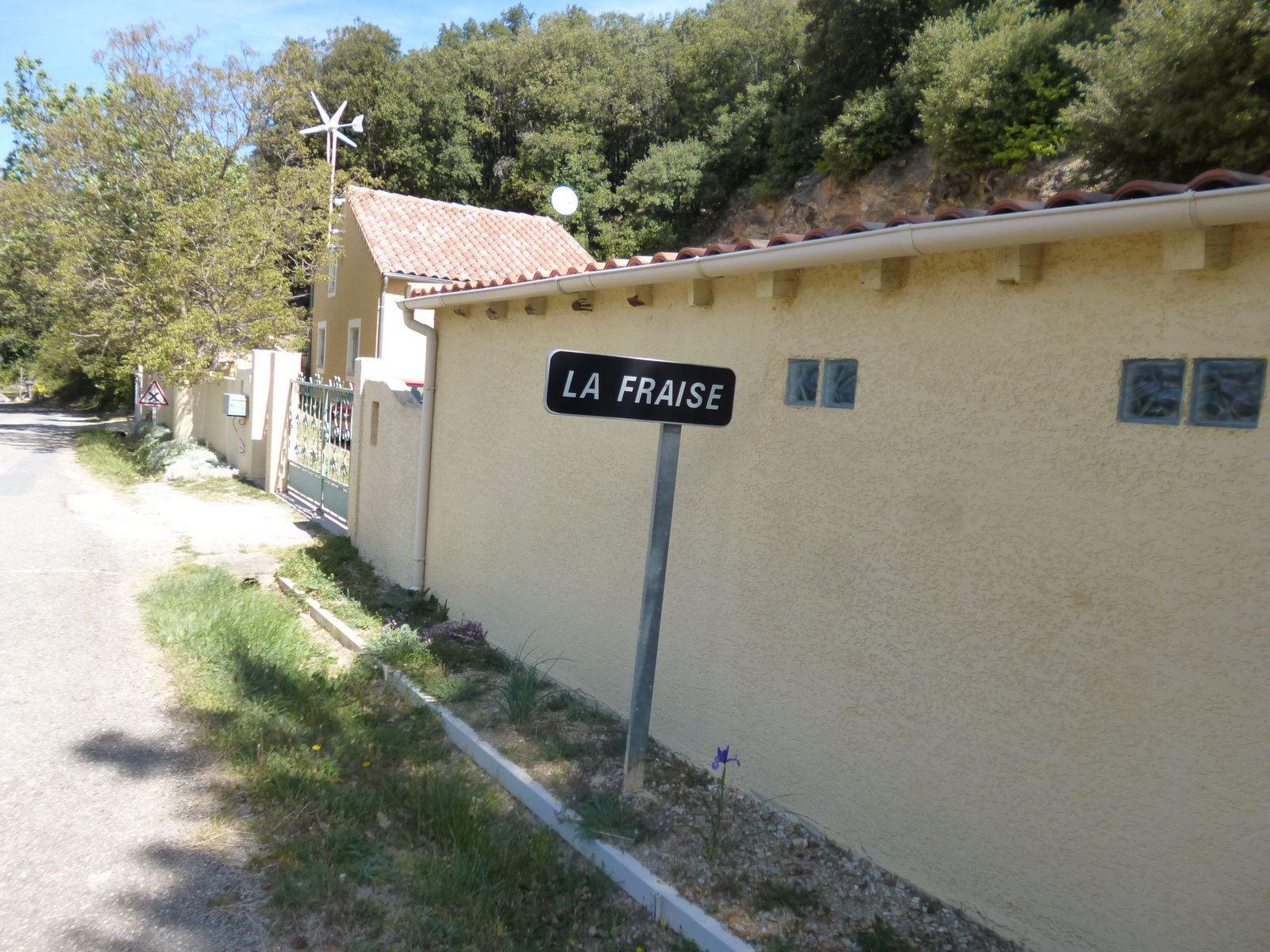Incident à LA FRAISE