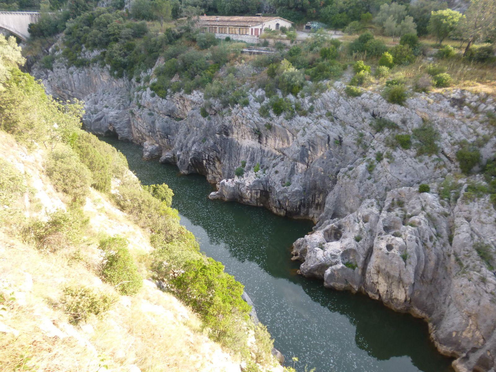 Le Pont du Diable et les Gorges de l'HÉRAULT