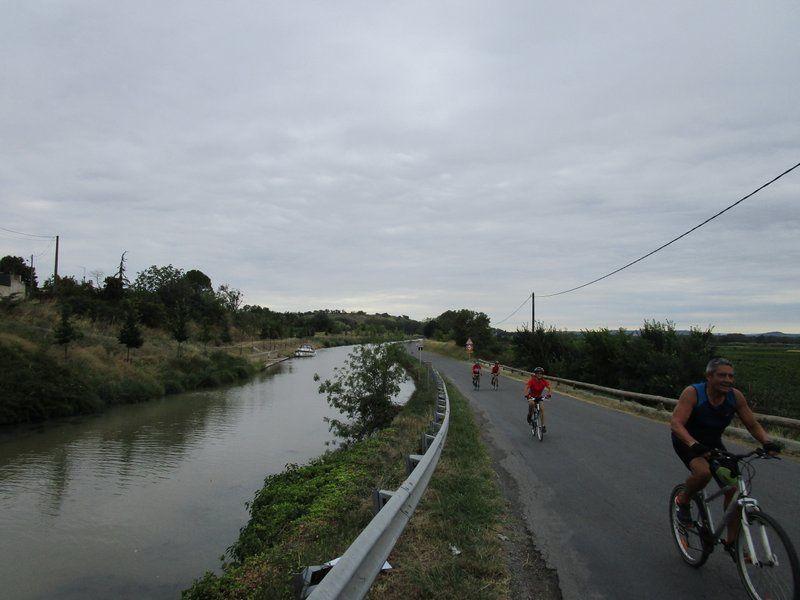 Le retour par le Canal du Midi