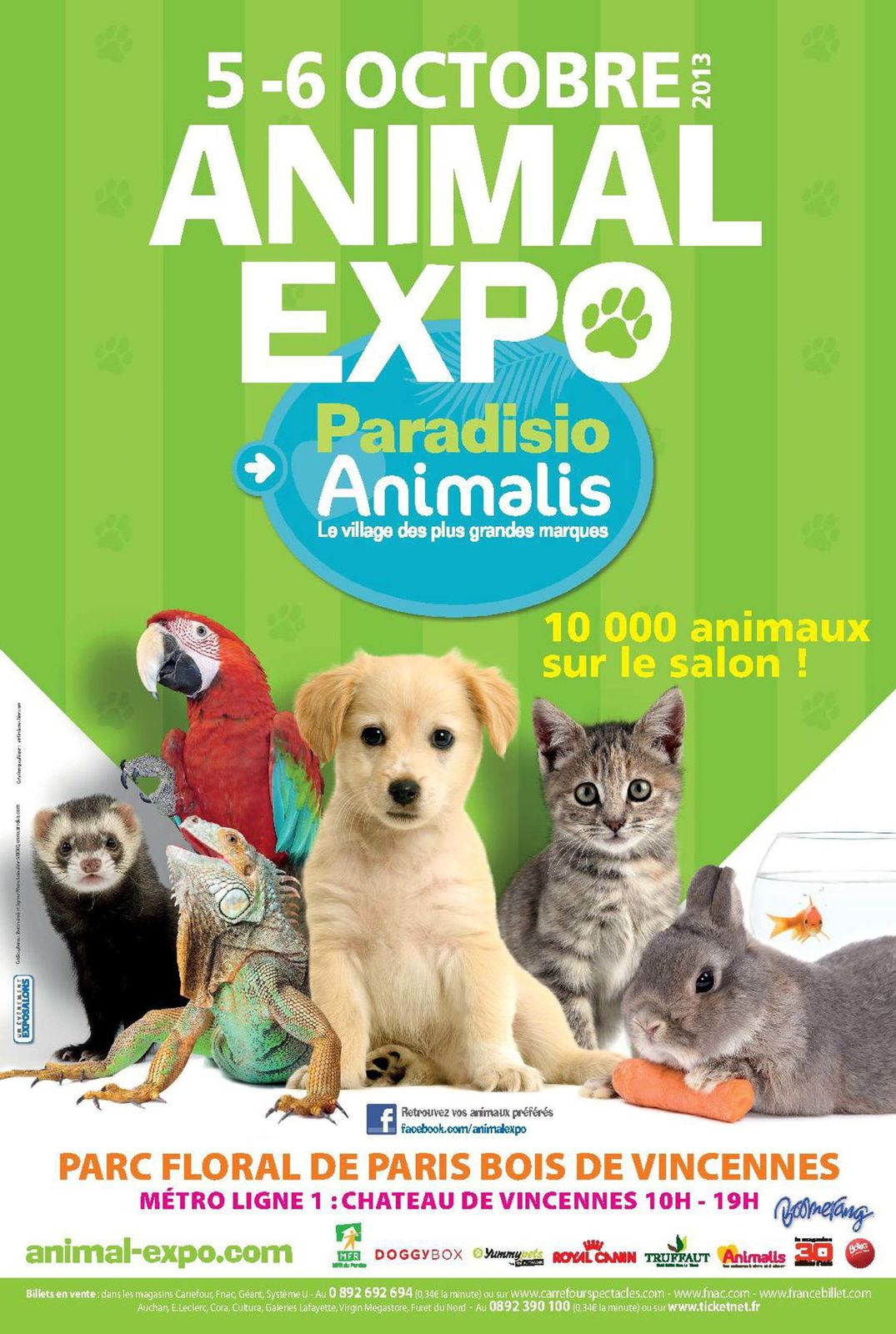 Animal expo 5 octobre 2013 paris