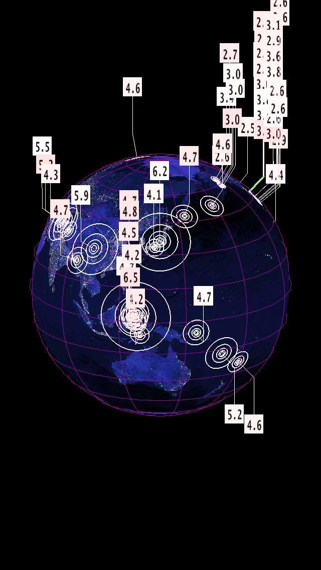 Séisme de 6.2 au Japon, 6.5 Indonésie et 5.9 en Chine