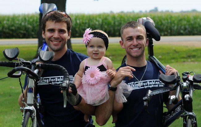 Biking for Babies : 1850 km pour la vie.