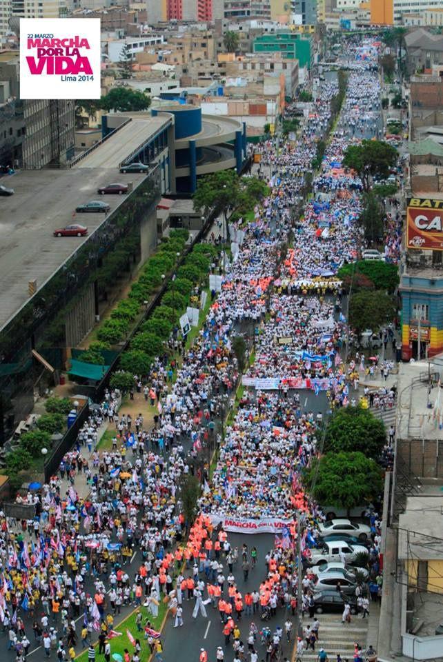 500 000 au Pérou... pour la vie !