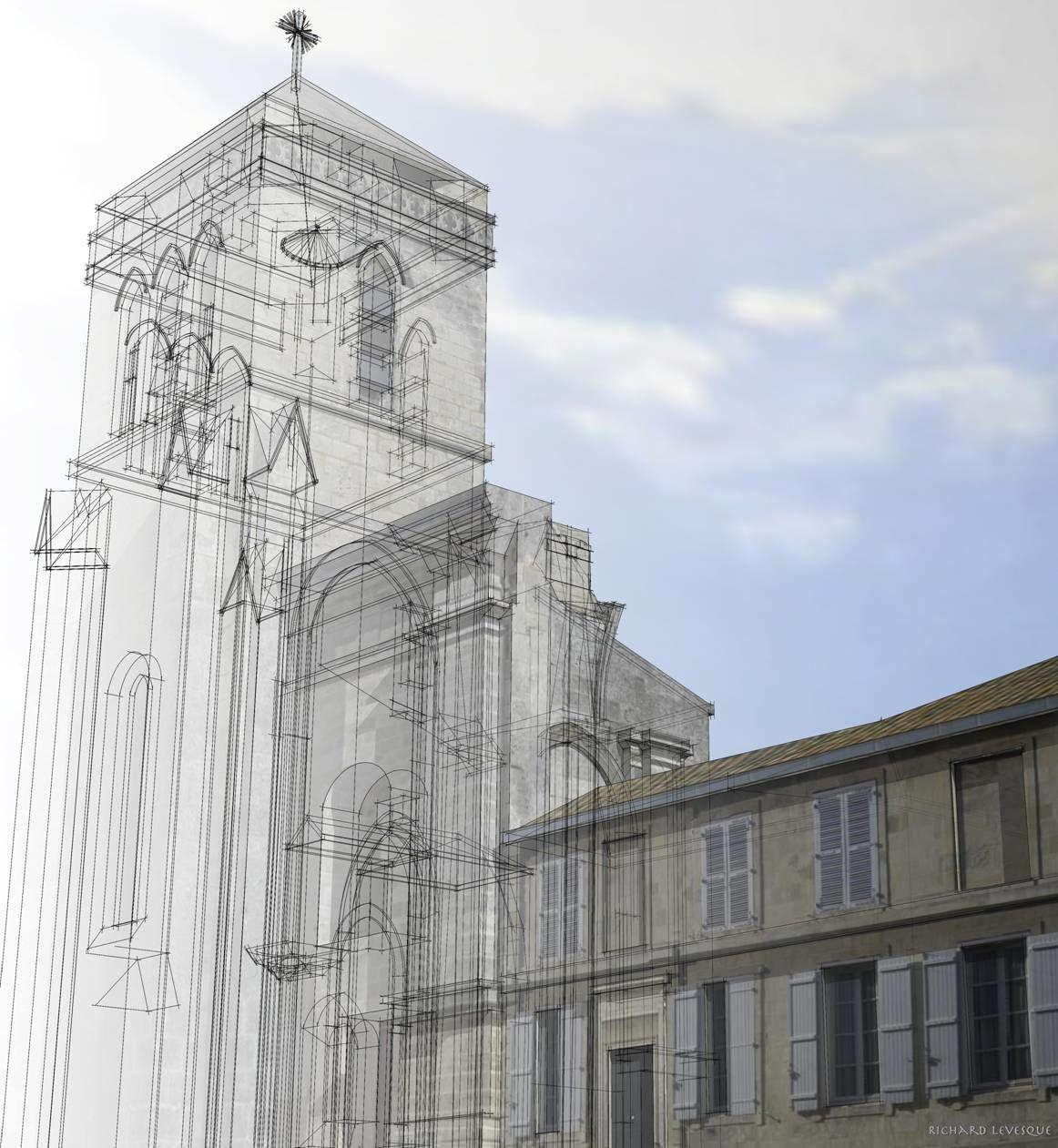 L'église Saint-Barthélemy était jadis orientée est-ouest et son entrée se situait dans l'actuelle rue Pernelle.
