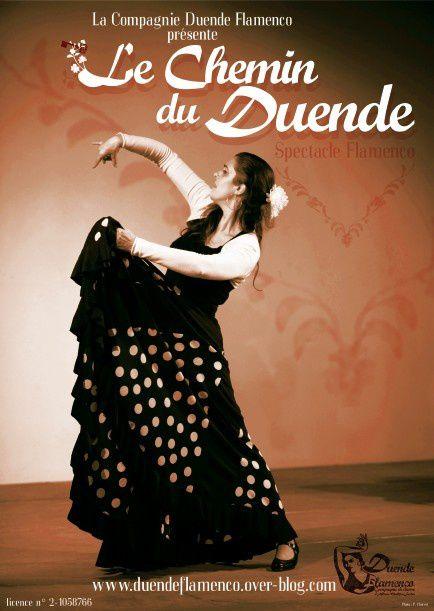 La compagnie Duende Flamenco présente &quot&#x3B;Le chemin du Duende&quot&#x3B; à Delle le 25 janvier