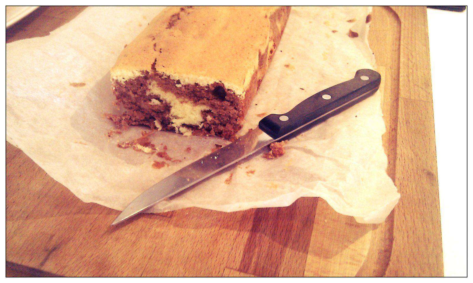 le marbré au chocolat façon savane