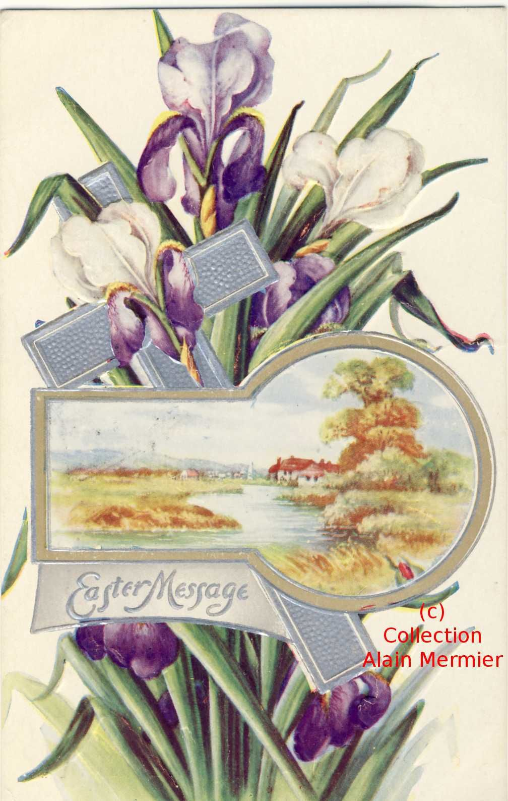 Iris -512- Easter message.  U.S.A. 1911