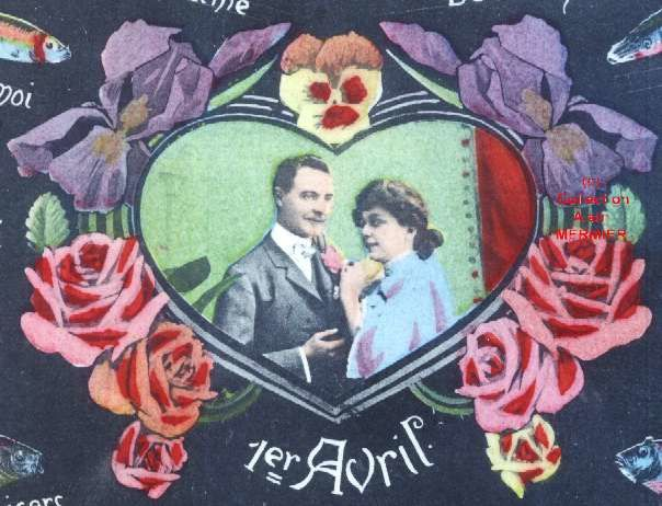 Iris -1891- 1 avril. Langage des poissons. France. 1919.