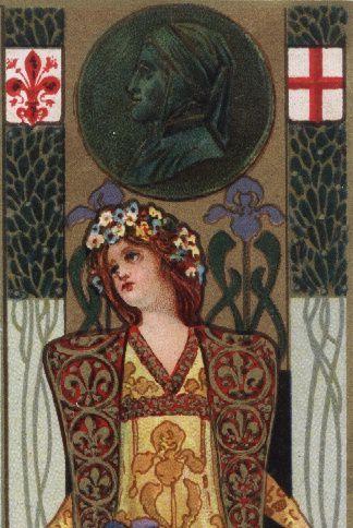 Iris -1880- FIRENZE. &quot&#x3B;Arte, fiori, poesia&quot&#x3B; ecco Firenze. Italie.