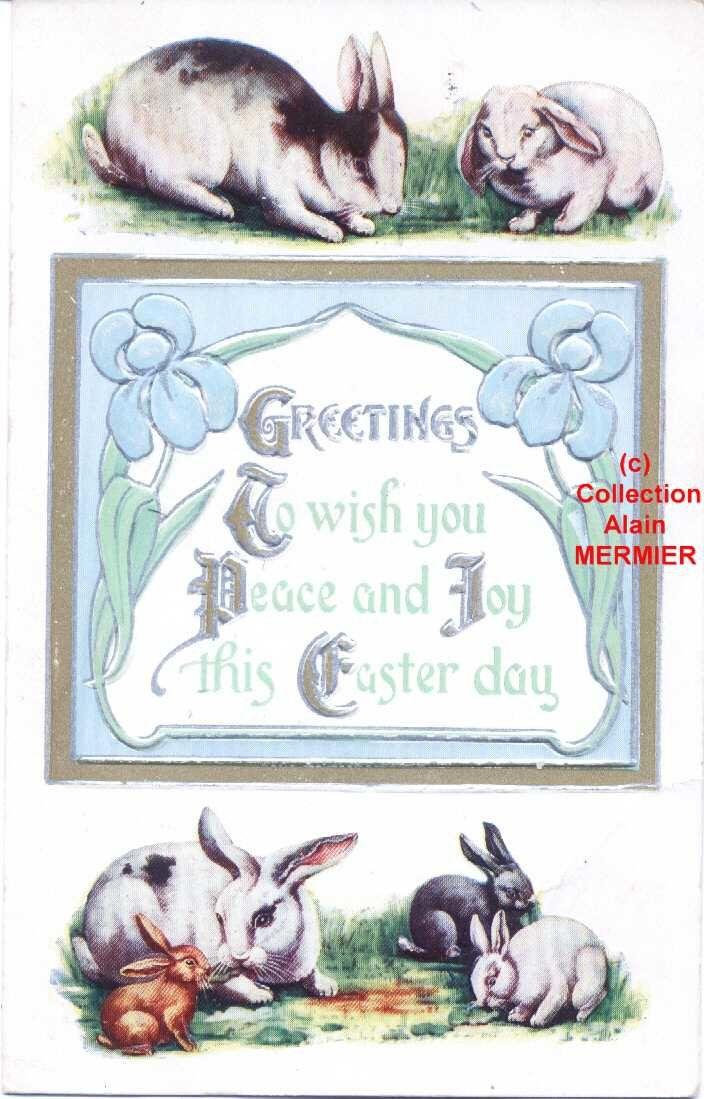 **** Bonnes et Joyeuses Pâques à tous ****