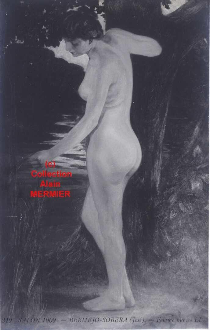 Iris -1834- Illustrateur BERMEJO-SOBERA José : Salon 1909. France.
