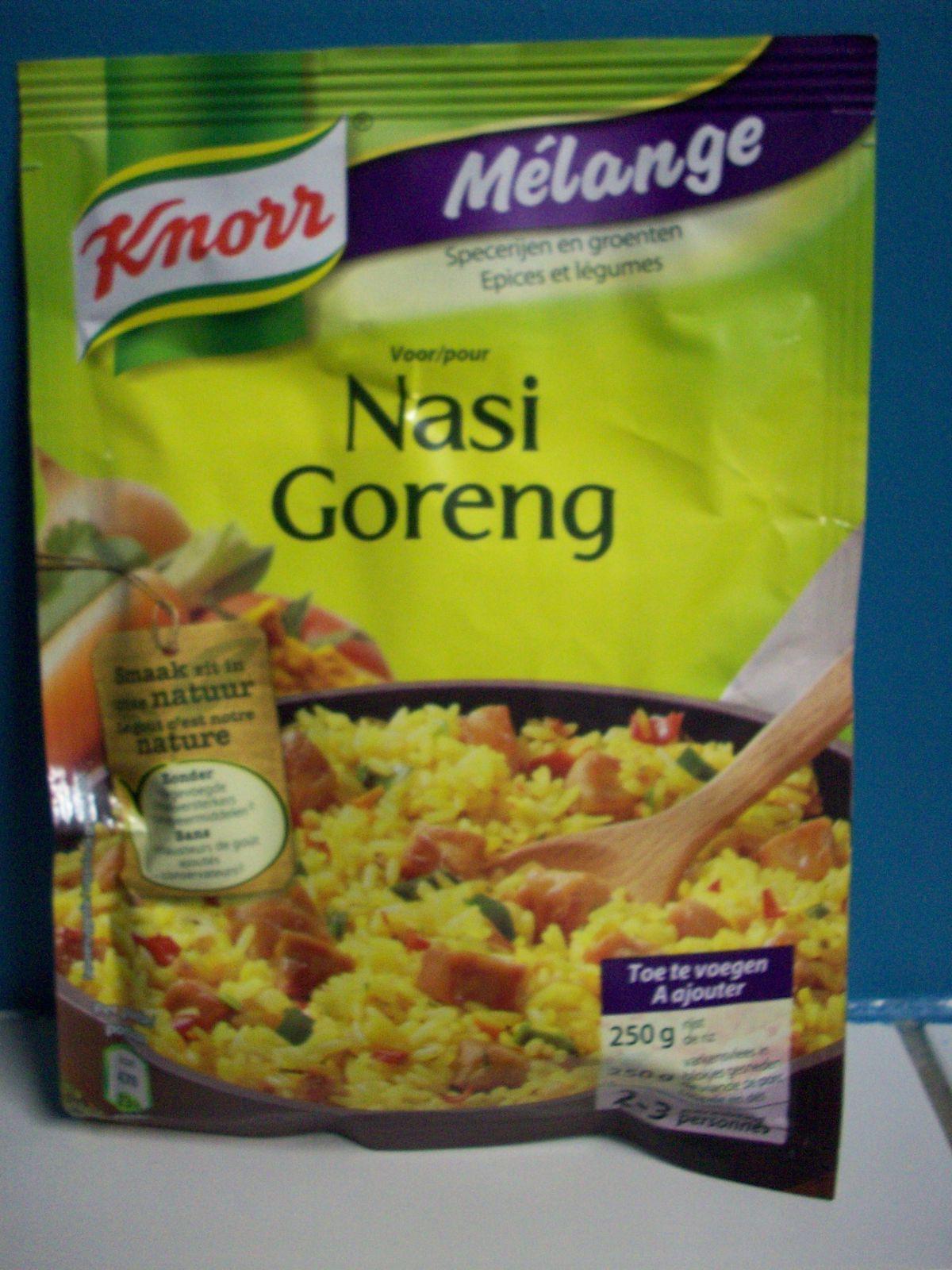 Bientôt en test: le mélange d'épices Nasi Goreng