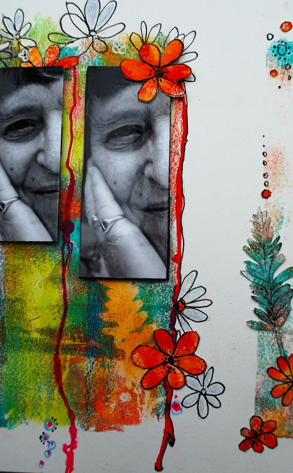 &quot&#x3B;Do it your scrap&quot&#x3B; page inspire par Françoise Melzani  au studio des Ginettes