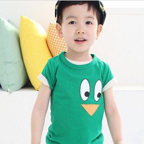 T-shirt dessin animé garçon