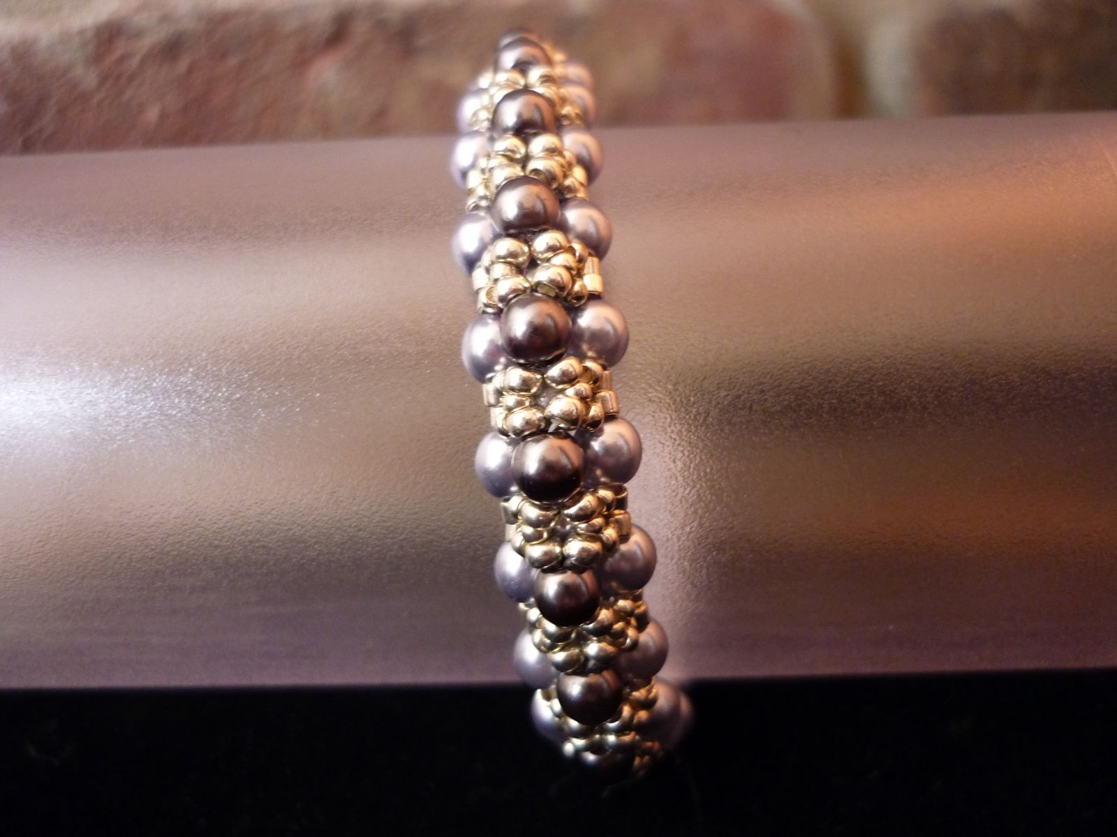 Bracelet &quot&#x3B;Black Pearls&quot&#x3B;