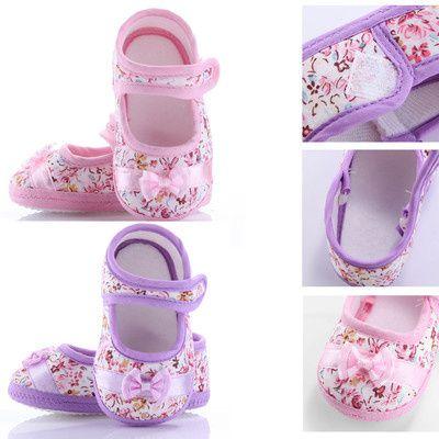 Chaussures en coton fille
