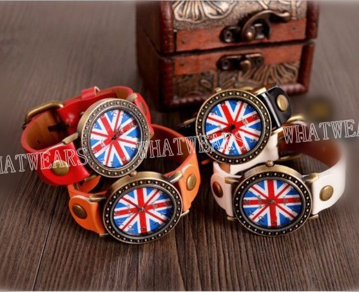 Montre 'britain flag'