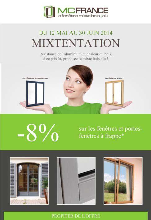 MIXTENTATION - Fenêtres bois/alu