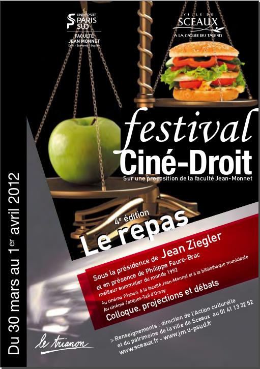 Festival Ciné-Droit 2012 : le repas