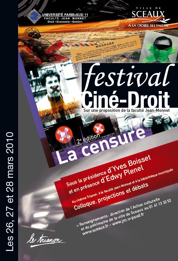 Festival Ciné-Droit 2010 : la censure