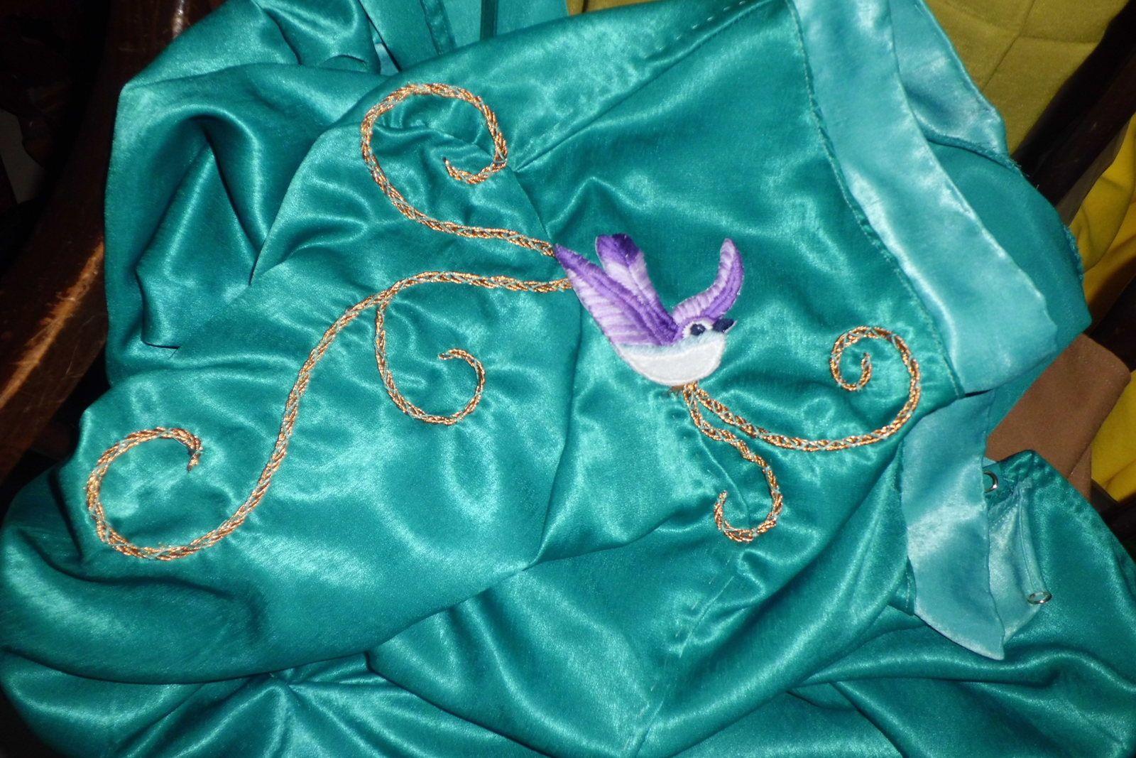 Projet Cersei: La Broderie/ Cersei Project: The embroidery