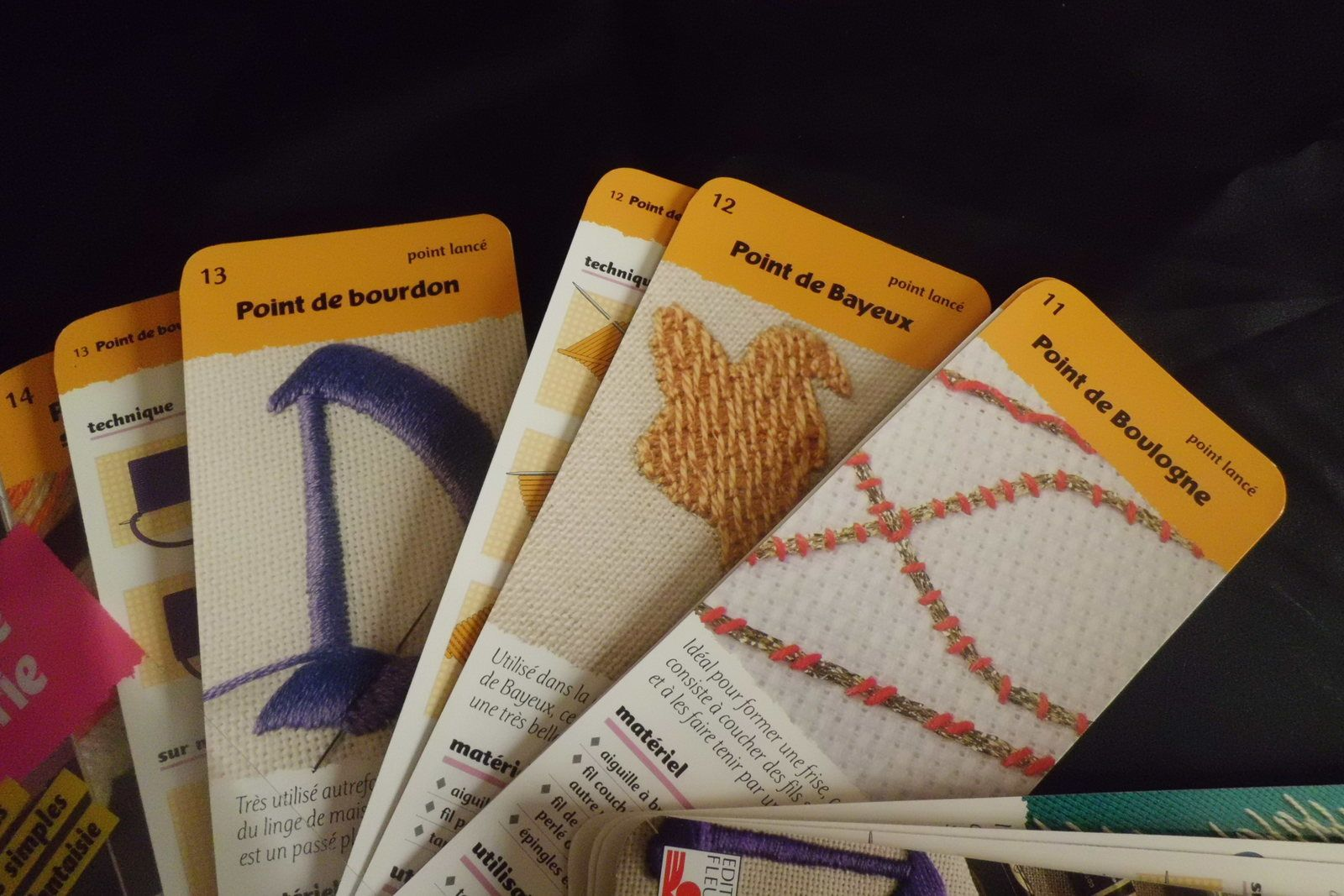 Petits Livres Utiles: Points de broderie / Little Usefull Books: Points de broderie