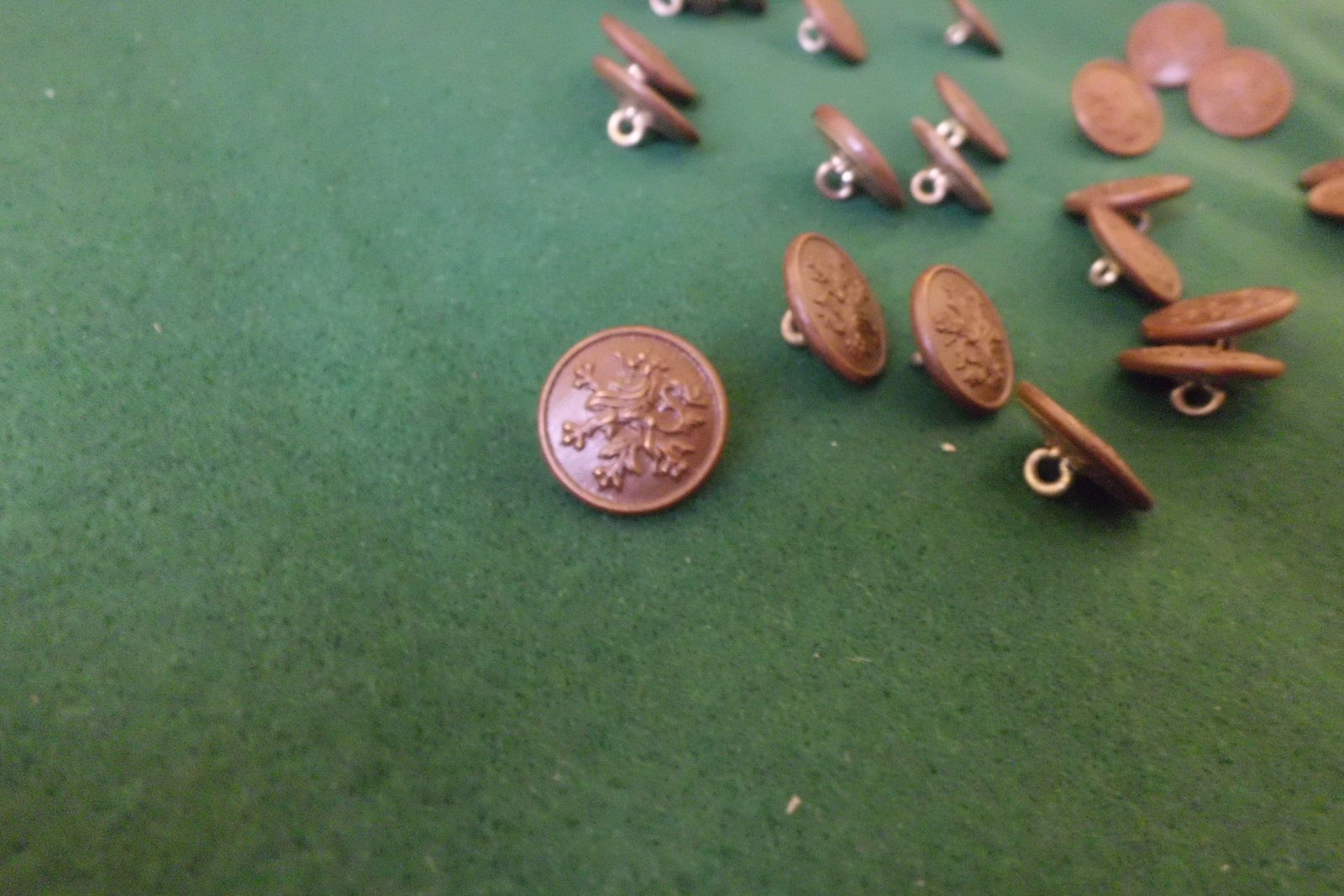 Mon tissus et les boutons / My fabric and buttons