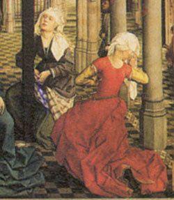 Details de/of Rogier Van der Weyden, Seven Sacraments 1445-1450