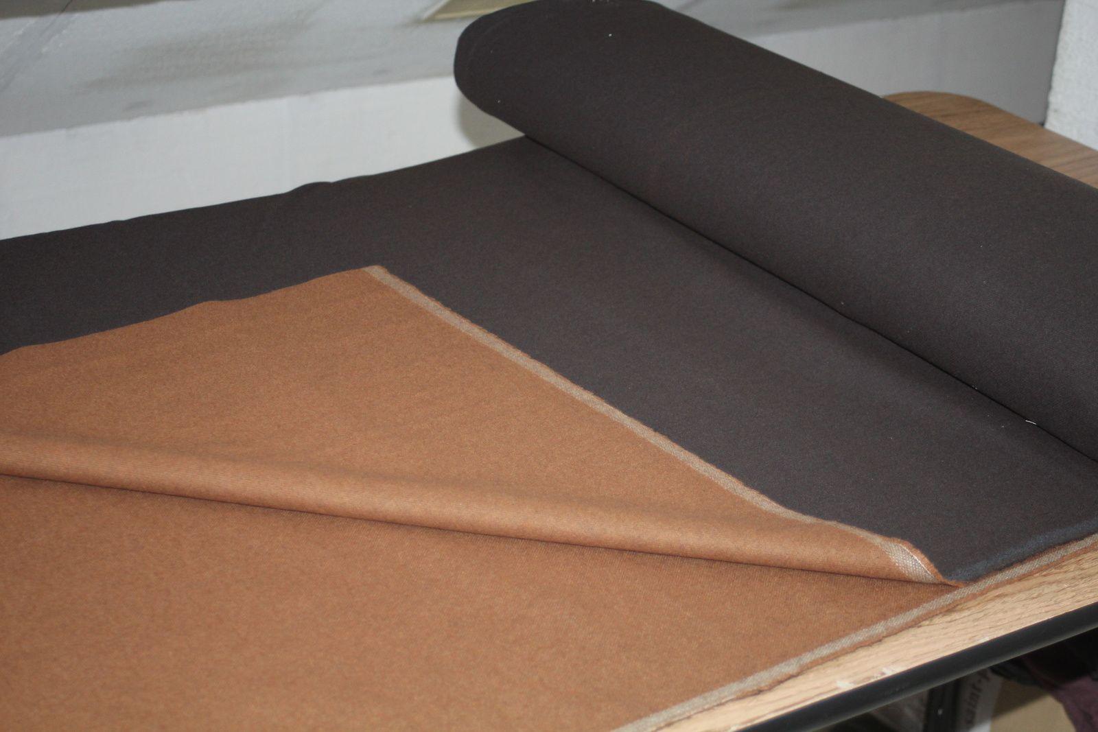 La bure de Jedi: le tissus / The Jedi robe: the fabric