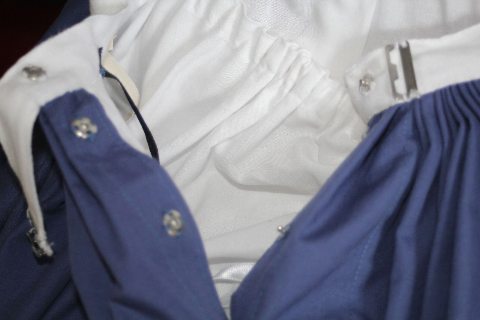 Tenue victorienne: La jupe, détails / Victorian Outfit: The skirt, details