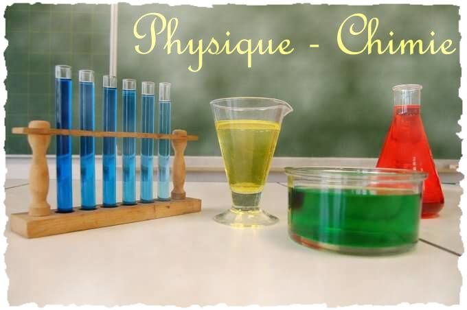 Physique Chimie... Outils