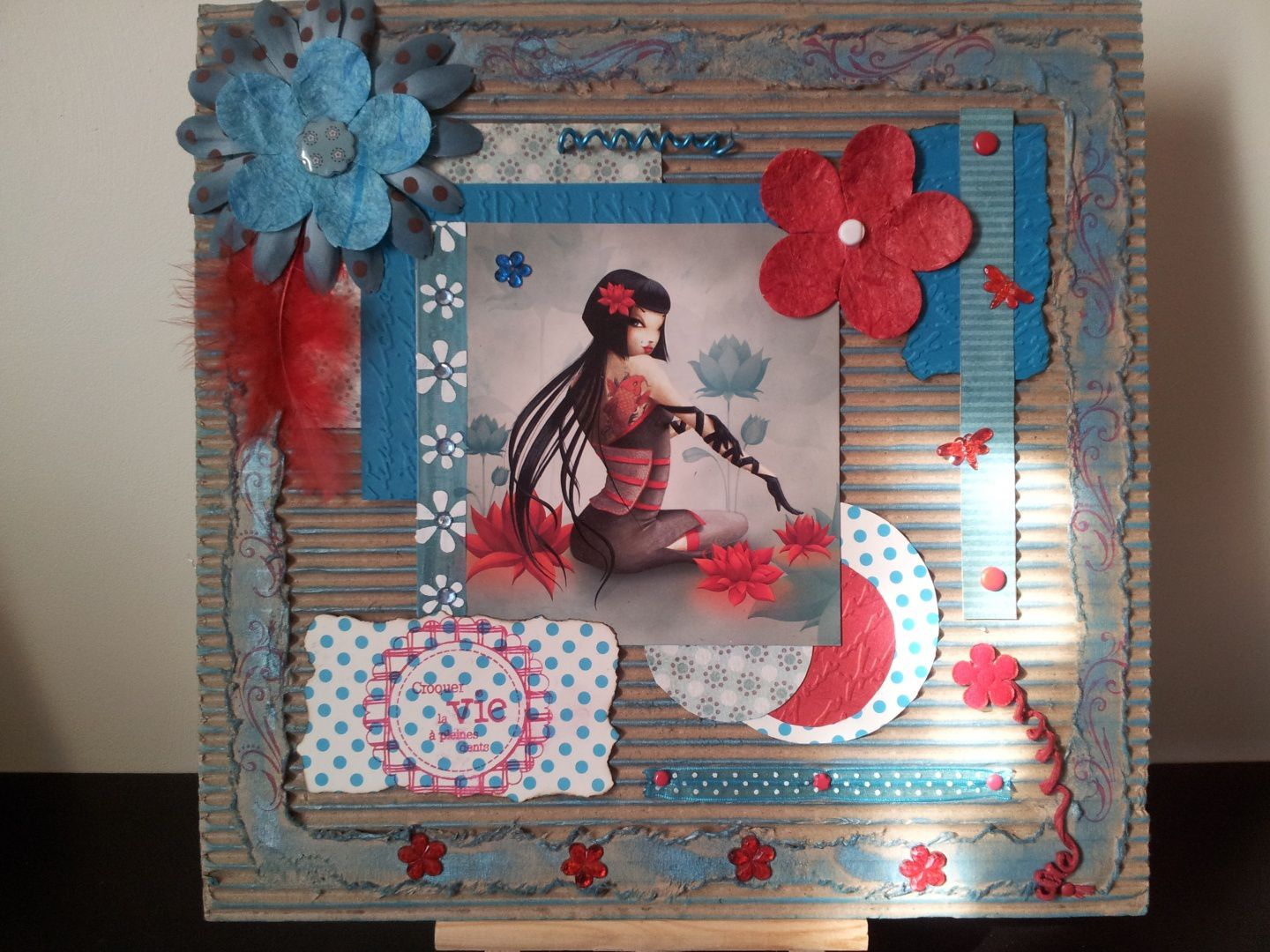 Exemple de scrapbooking