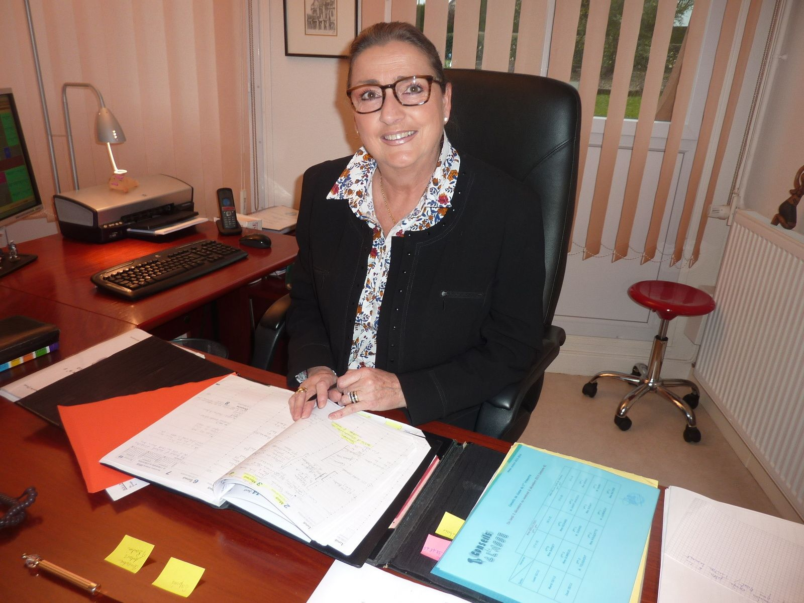 Brigitte BIELLI, Principale du collège Jean de La Fontaine, tire sa révérence !
