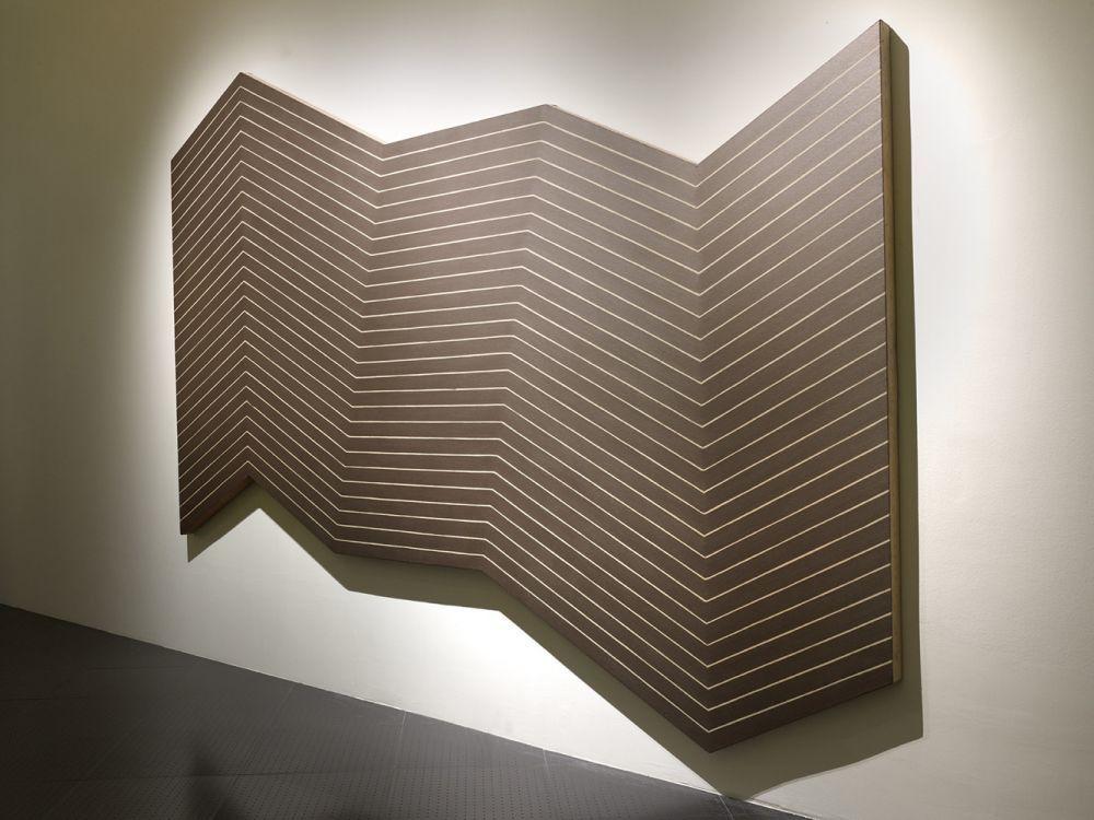 Le minimaliste art for Frank stella peinture