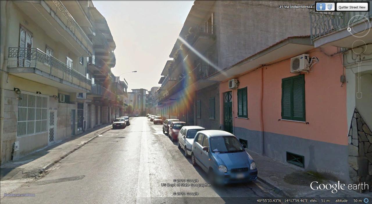 N à droite Casoria à gauche Afragola