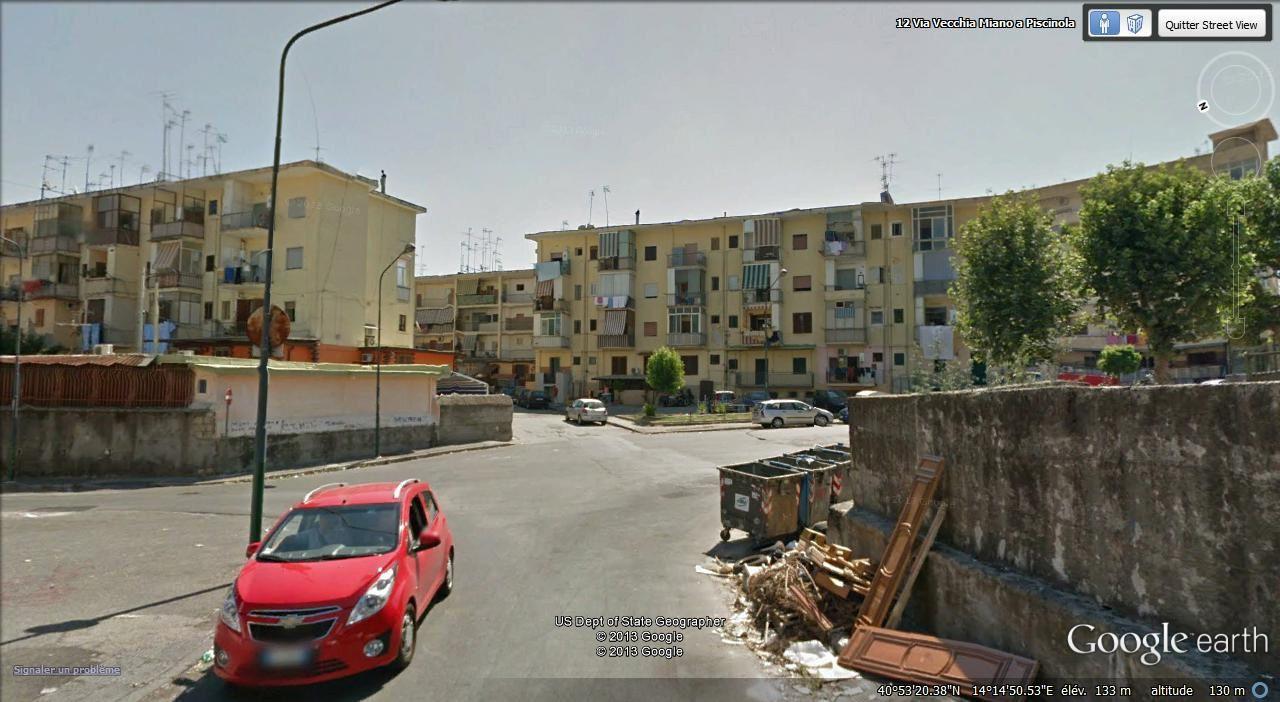 via vecchia Miano a Piscinola
