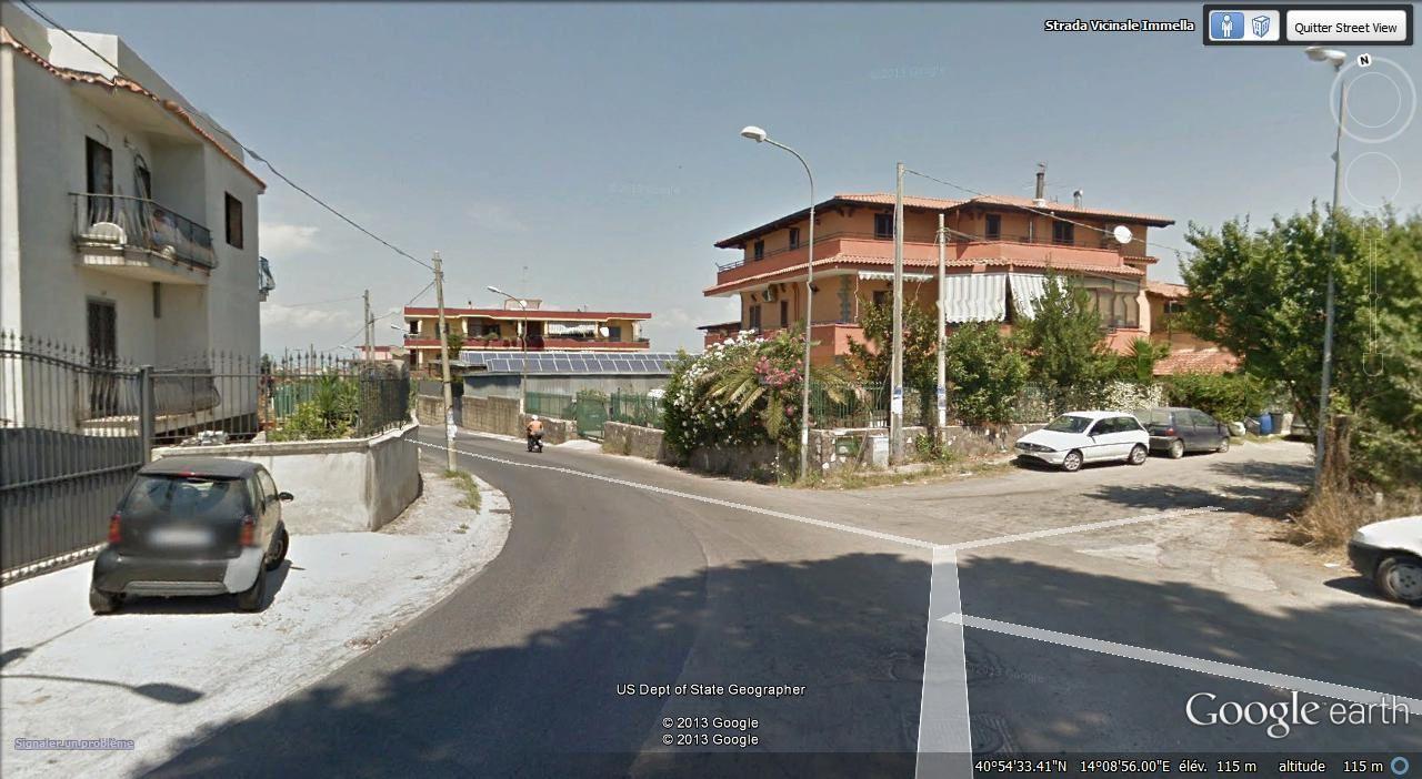 E fin de Marano entrée à  Qualiano (25.000 hab)