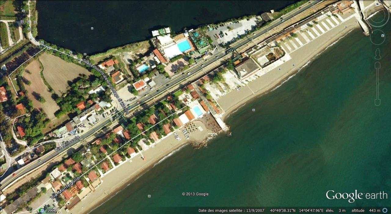 plage de Lucrino