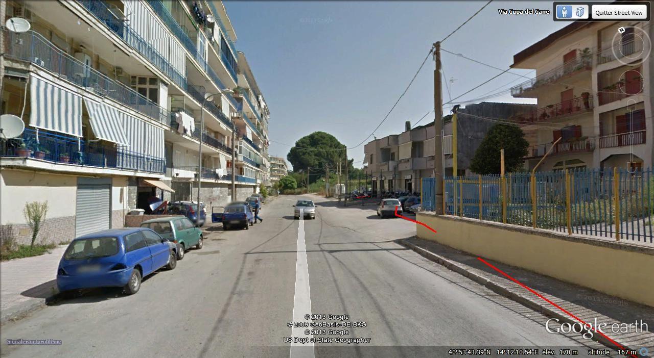 S marano à gauche Naples à droite