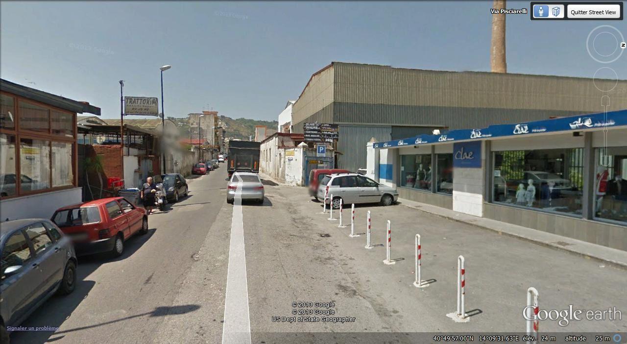 via Pisciarelli-zone industrielle