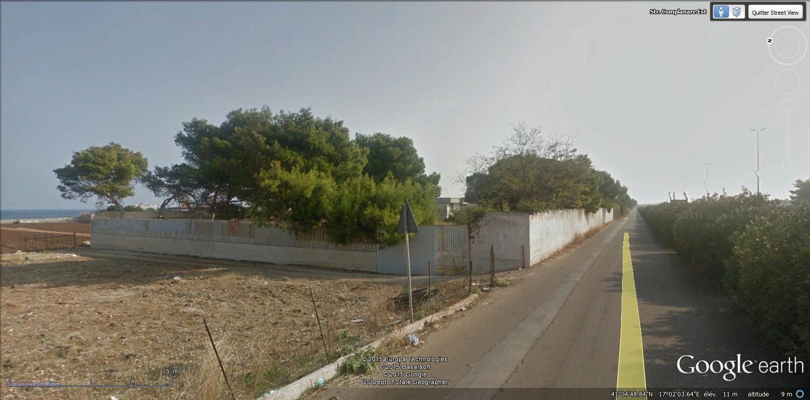 entrée de la commune de Mola di Bari ( 26.000 hab ) ( 15,2 km )