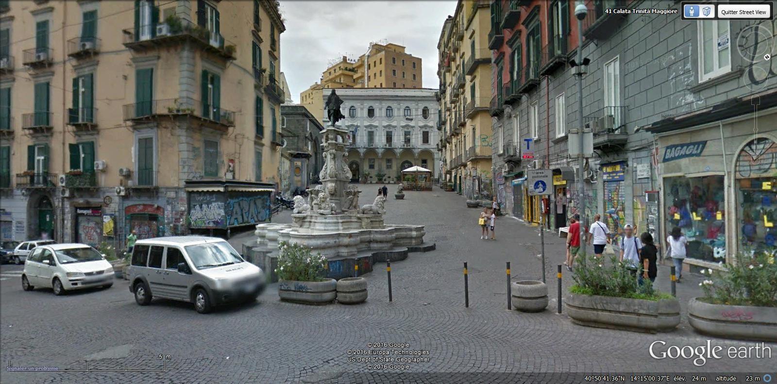 piazza et église Sant Anna dei Lombardi GM